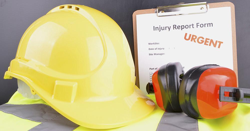 Work injury report