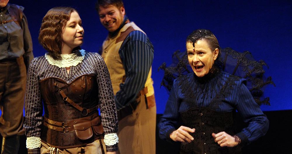 Janice Payne in Macbeth