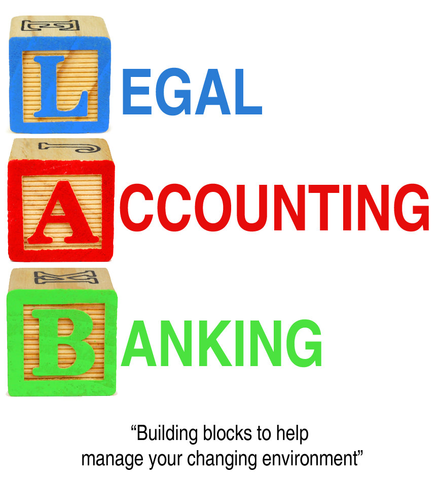 Legal, accounting, banking